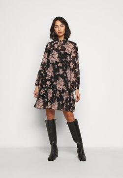 VILA PETITE - VITULLAN FLOWER DRESS - Freizeitkleid - black