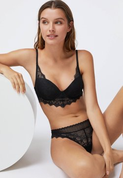 OYSHO - Soutien-gorge push-up - black