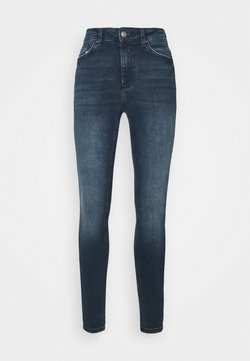 PIECES Tall - PCDELLY - Jeans Skinny Fit - dark blue denim