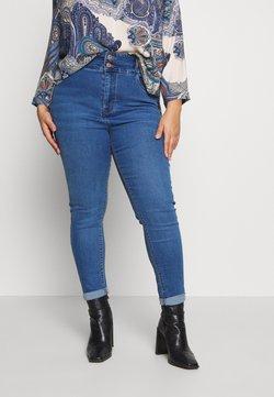 New Look Curves - LIFT SHAPE  - Jeans Skinny - mid blue
