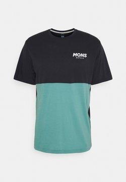 Mons Royale - TARN FREERIDE - T-Shirt print - iron/sage