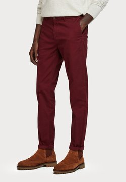 Scotch & Soda - MOTT CLASSIC SLIM FIT - Chinot - bordeaux