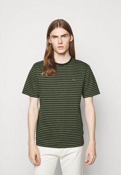 J.LINDEBERG - CHARLES STRIPE - T-Shirt print - lake green
