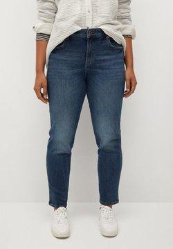 Violeta by Mango - MARLENE - Jeans Straight Leg - dunkelblau vintage