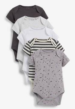 Next - 5 PACK  - Body - black/off-white/grey