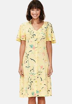 La Fiancée du Mékong - CEZA BUTTONED - Vestido camisero - yellow