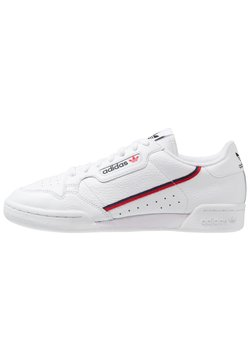 adidas Originals - CONTINENTAL 80 SKATEBOARD SHOES - Baskets basses - footwear white/scarlet/collegiate navy