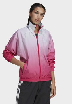 adidas Originals - ADICOLOR 3D TREFOIL TRACK TOP - Trainingsjacke - blue, pink
