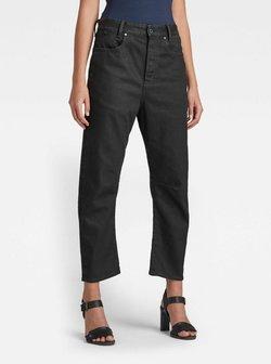 G-Star - C-STAQ 3D BOYFRIEND - Jeans fuselé - pitch black
