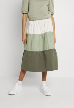 b.young - BXJONA SKIRT - A-Linien-Rock - seagrass mix