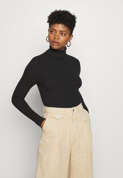 New Look - ROLL NECK JUMPER - Jersey de punto - black