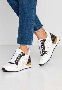 Guess - REJJY - Baskets basses - white/brown