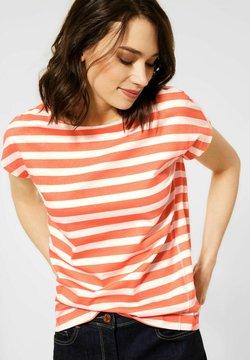 Cecil - T-Shirt print - orange