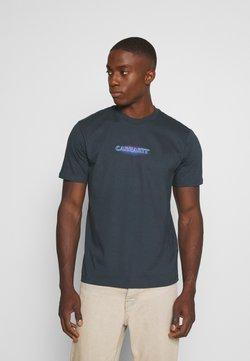 Carhartt WIP - NEON SCRIPT  - T-Shirt print - admiral