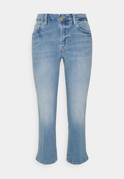 Frame Denim - LE PIXIE MINI BOOT - Jeansy Straight Leg - light blue