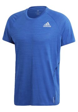 adidas Performance - RUNNER T-SHIRT - T-shirt con stampa - blue