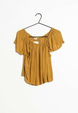 Mango - T-shirt imprimé - brown