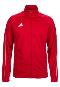 adidas Performance - CORE ELEVEN FOOTBALL TRACKSUIT JACKET - Trainingsjacke - red/white