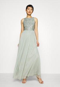 Lace & Beads - BEATRICE MAXI - Vestido de fiesta - sage