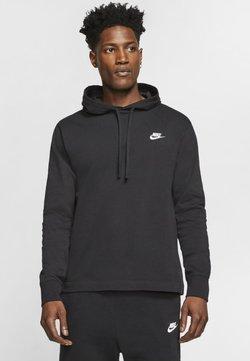 Nike Sportswear - SPORTSWEAR CLUB - Sweat à capuche - black/white