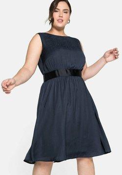 Sheego - Cocktailkleid/festliches Kleid - nachtblau