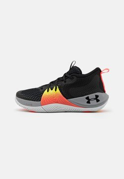 Under Armour - GS EMBIID UNISEX - Basketbalschoenen - black