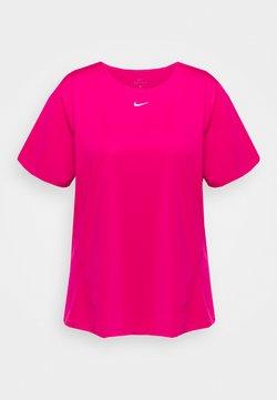 Nike Performance - ALL OVER PLUS - T-shirt basic - fireberry/white