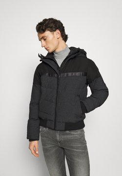 Jack & Jones - JCOCHARLES HOODED - Winterjacke - black
