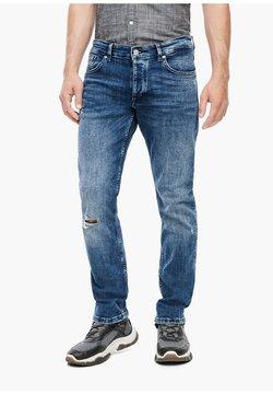 Q/S designed by - MIT DESTROYES - Jeans Slim Fit - blue