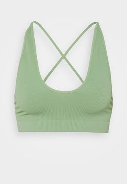 Free People - WHATS THE SCOOP BRALETTE - Alustoppi - cool moss