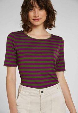 Oui - T-Shirt print - lilac green