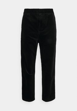 Carhartt WIP - FLINT PANT BARRINGTON - Chinot - black rinsed