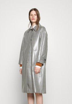 Alexa Chung - RAGLAN COAT - Klassischer Mantel - navy/ khaki/ beige