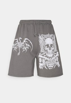 NEW girl ORDER - HARDCORE FOR LIFE - Shorts - charcoal