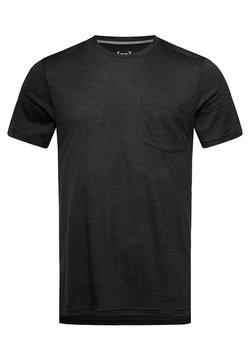 super.natural - CITY  - T-Shirt basic - black