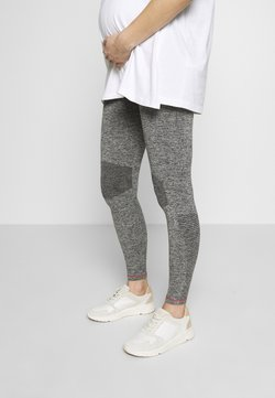 MAMALICIOUS - ACTIVE TIGHTS  - Leggingsit - medium grey melange