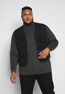 Urban Classics - TACTICAL VEST - Veste sans manches - black