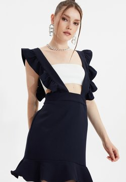 Trendyol - TRENDYOL TWOSS20EL1263 - Robe de soirée - navy blue