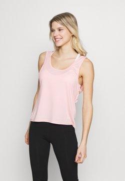 Cotton On Body - TWIST BACK TANK - Débardeur - cameo pink