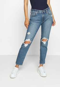 GAP - GIRLFRIEND MED TULIPAN DEST - Jeans Relaxed Fit - medium wash