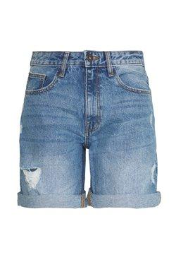 JDY - JDYSELMA GIRLFRIEND SHORTS  - Jeansshort - medium blue denim