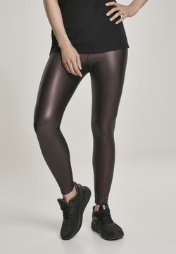 Urban Classics - Leggings - Hosen - redwine