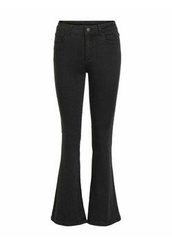 Vila - Jeans a zampa - black