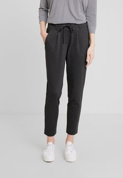 TOM TAILOR - FIT PANTS ANKLE - Jogginghose - black/grey