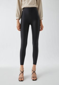 PULL&BEAR - Legging - black