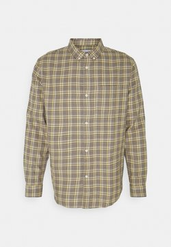 Weekday - MALCON CHECKED  - Hemd - beige
