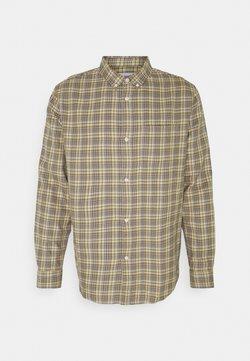 Weekday - MALCON CHECKED  - Koszula - beige
