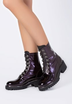 TJ Collection - Plateaustiefelette - purple