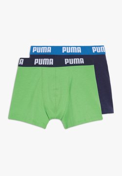 Puma - BOYS BASIC 2 PACK - Shorty - green/blue