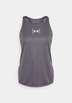 Under Armour - SPEED STRIDE ATTITUDE - Camiseta de deporte - blackout purple